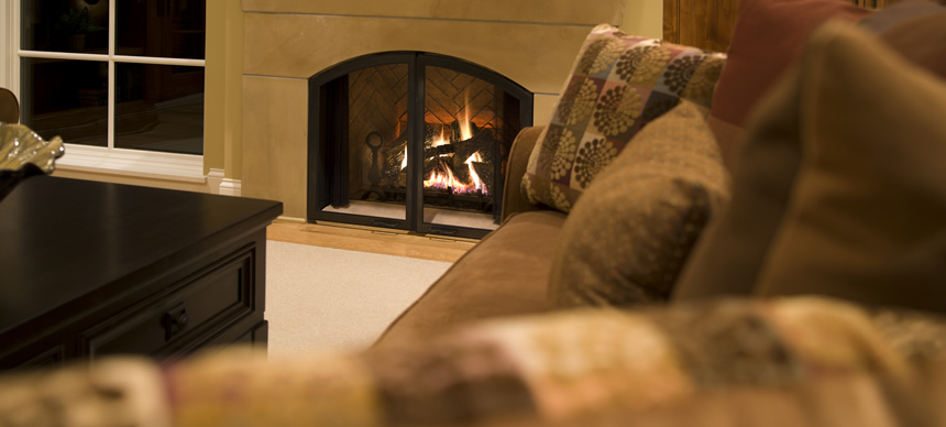 Supplemental Heating Fireplace